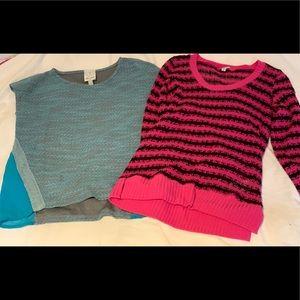 Ella Moss Blouse and Splendid Sweater Bundle
